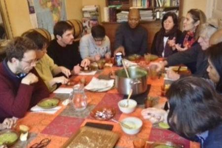 Premier « déjeuner-culte » avec les étudiants de l'IPT