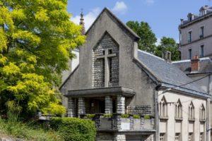L'architecture unique du temple de Rodez