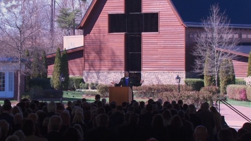 Les funérailles de Billy Graham