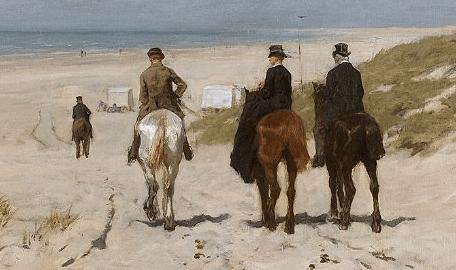 Les Hollandais en visite à Paris