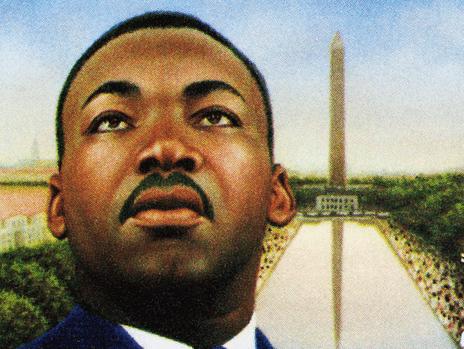 25 février 1948. Martin Luther King, pasteur de l'église baptiste