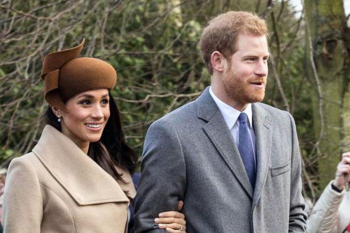 La fiancée du prince Harry a été baptisée