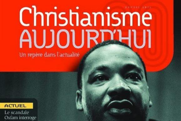 Le numéro d'avril de Christianisme aujourd'hui