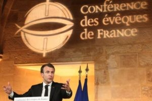 Grand discours d'Emmanuel Macron aux Bernardins