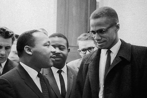 Malcolm X et Martin Luther King, mêmes combats ?