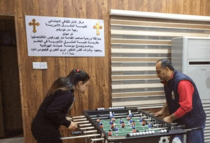 À Bagdad, une église transformée en centre d'espoir