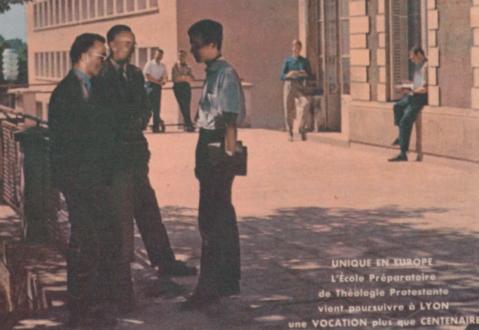 Mai 1968 à l'École préparatoire de théologie protestante