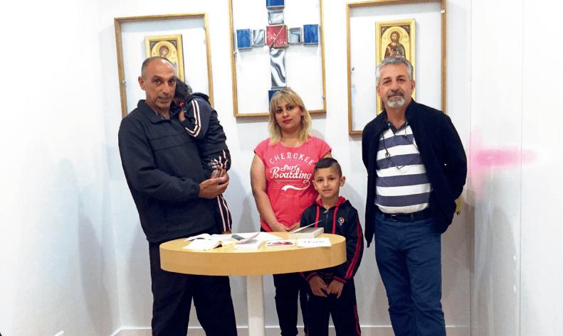 Adrien Sekali : un collectif pour l'accueil des réfugiés