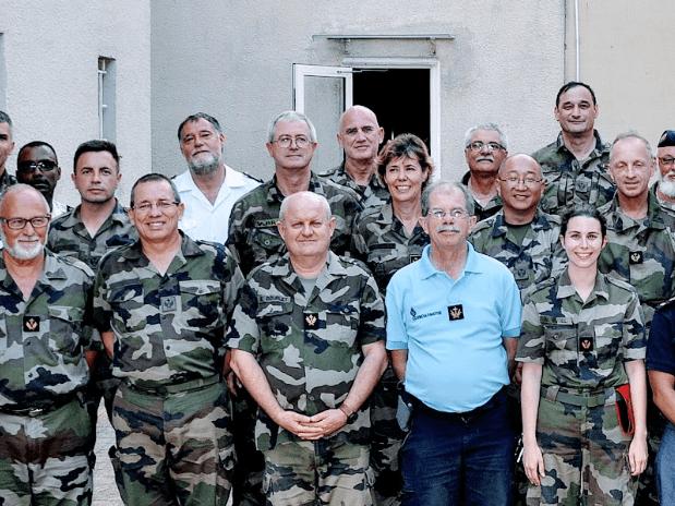 Le rendez-vous des militaires protestants