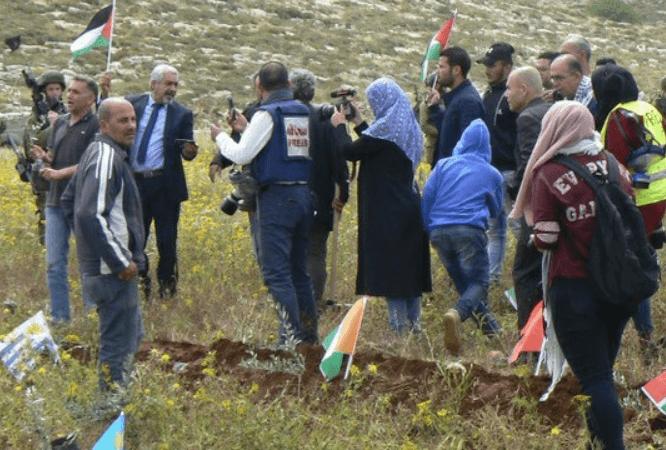 Palestine : les colons au sud de Naplouse