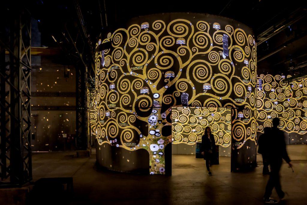 Klimt en pleines lumières
