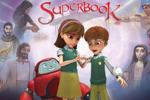 Superbook : la Bible racontée aux enfants de manière moderne