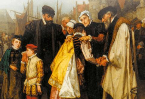 Une protestante au temps des dragonnades