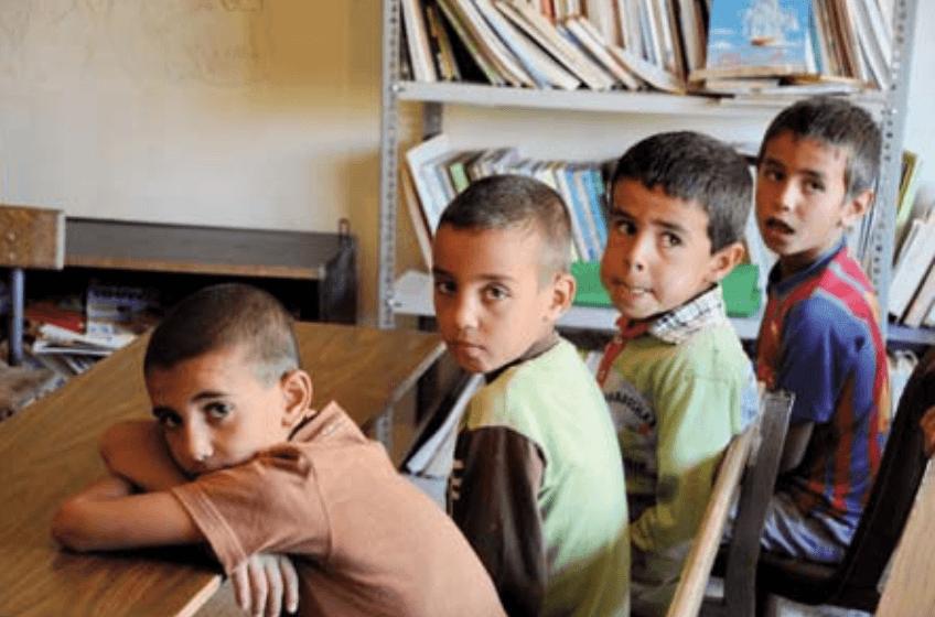 L'éducation des enfants réfugiés syriens