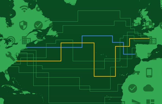 """Un réseau plus rapide pour Google grâce à """"Dunant"""""""
