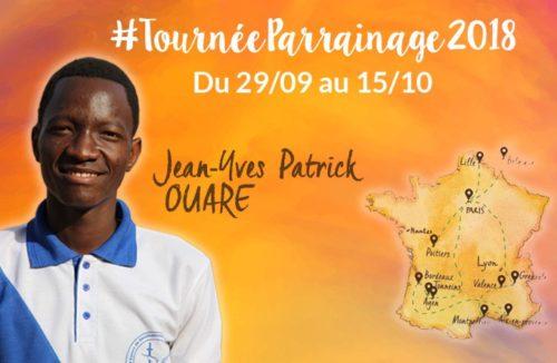 #TournéeParrainage 2018 : interview de Jean Yves Patrick