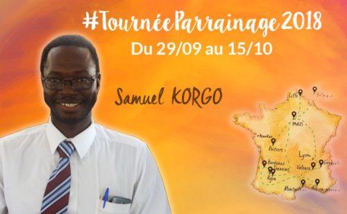 #TournéeParrainage 2018 du SEL : interview de Samuel Korgo