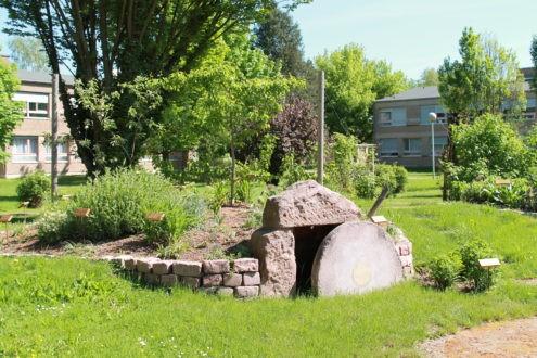 Un jardin symbole de l'ouverture et de la connaissance
