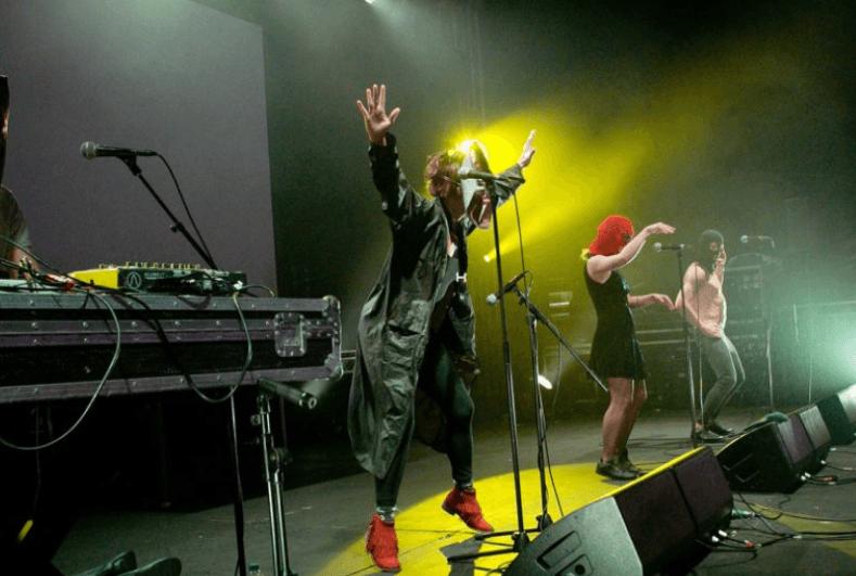 Les Pussy Riot s'invitent à un festival de musique chrétienne