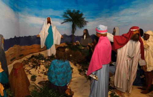 Des personnages bibliques... en cire !
