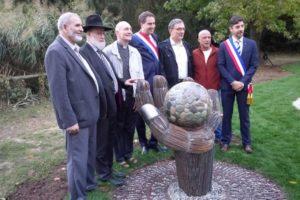 Le « Jardin de la fraternité » en Alsace