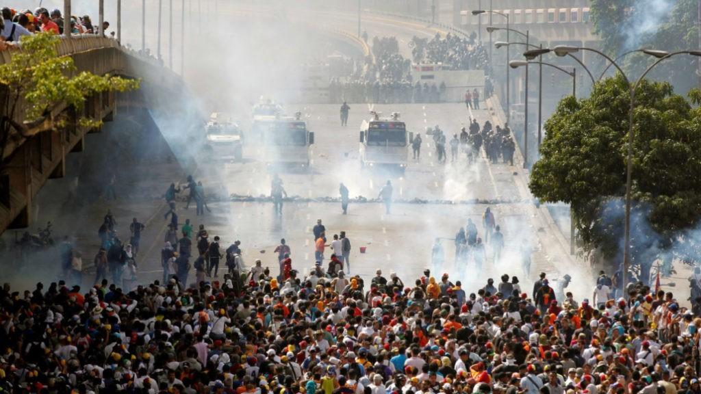 Que se passe-t-il au Vénézuela ?