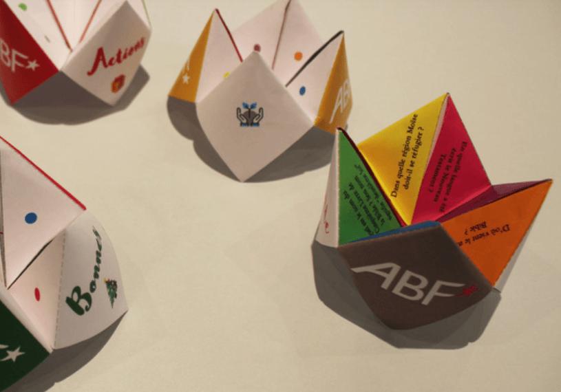 Trois cocottes en papier à réaliser pour l'Avent
