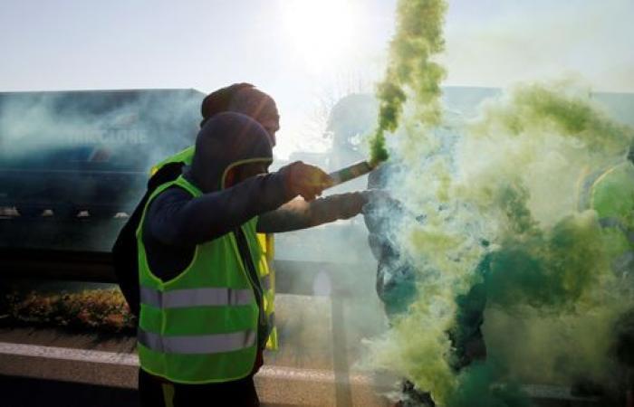 La grogne des gilets jaunes s'étend sur l'Europe