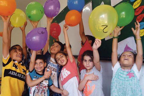 Réfugiés au Liban : parrainage d'enfants syriens