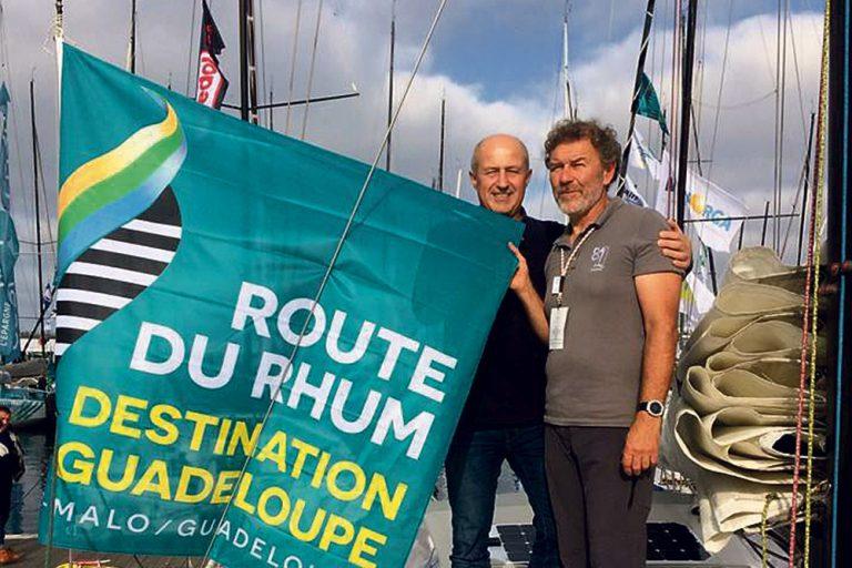 """Le bateau """"Esprit Scout"""" prend la Route du Rhum"""