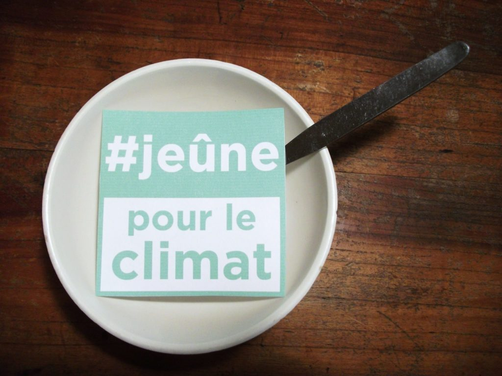 COP24 : le Jeûne pour le climat reprend !