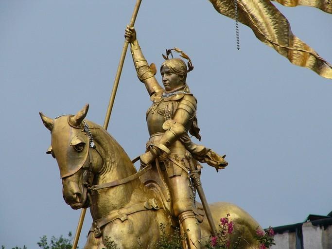 9 janvier 1431. Procès de Jeanne d'Arc