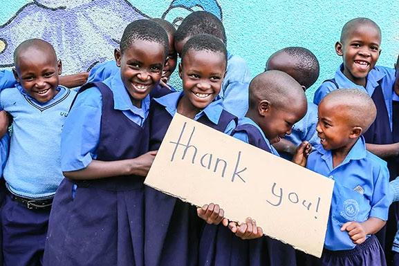 Plus de 2 millions d'enfants aidés par Compassion international