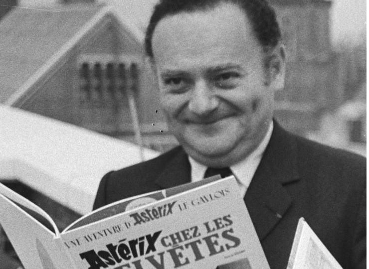 René Goscinny, un génie créatif au-delà du rire