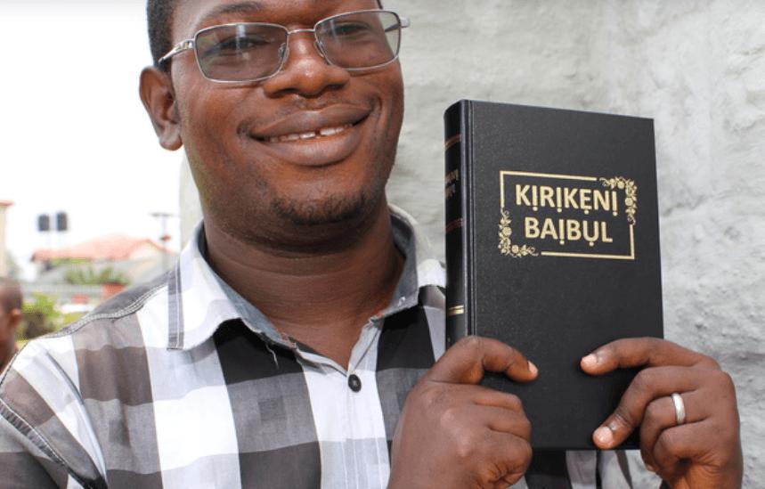 5,6 milliards de personnes ont la Bible intégrale dans leur langue