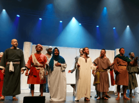 Jouer pour servir Jésus