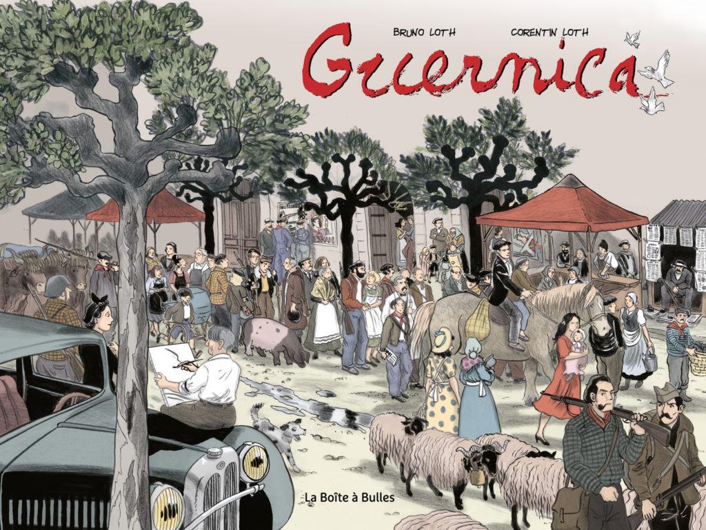 Guernica, un plaidoyer pour la paix en BD