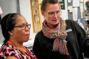 Aider à l'intégration des femmes migrantes