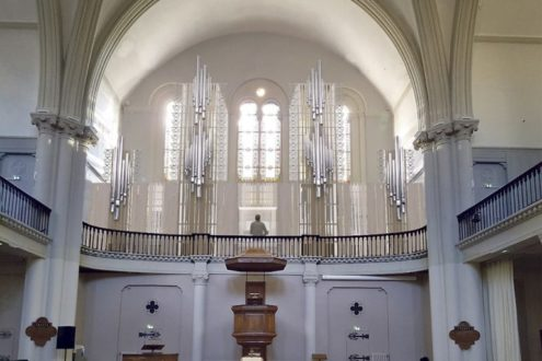 Appel aux dons pour l'orgue du temple Maguelone