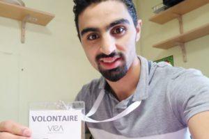 Rencontre avec Yazen, en service civique à l'Entraide protestante du Havre
