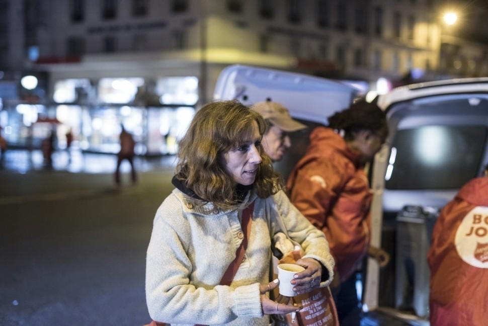 L'urgence des femmes à la rue