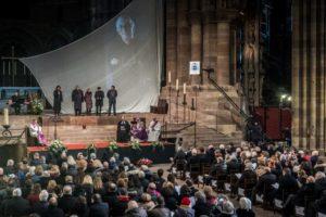 Tomi Ungerer : récit de la cérémonie d'hommage à Strasbourg