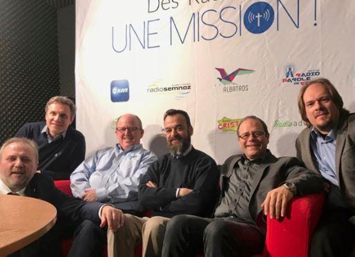 Les responsables de la radio adventiste mondiale en visite en France