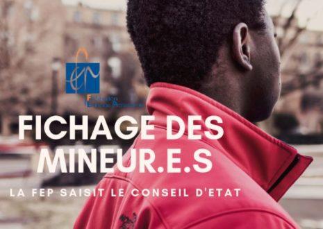Fichage des mineurs non accompagnés : la FEP saisit le Conseil d'Etat