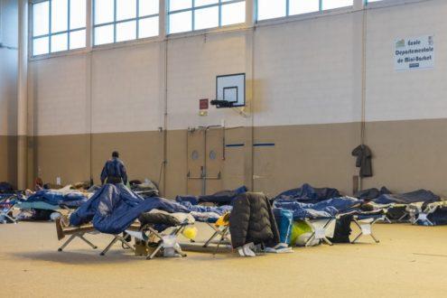 Absence de propositions d'hébergement dignes pour les migrants