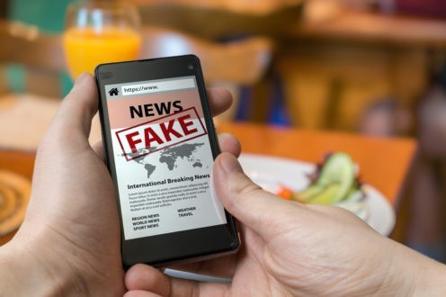 Discours de haine et Fake news