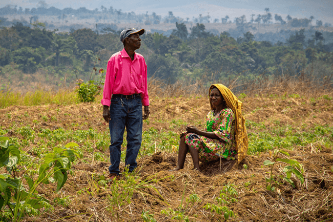 Quand leurs terres sont pauvres, quelle espérance ?