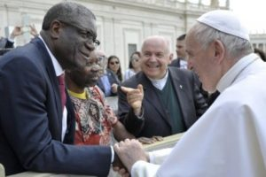 Denis Mukwege a rencontré le pape