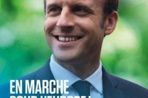 Emmanuel Macron, l'affiche qui fâche