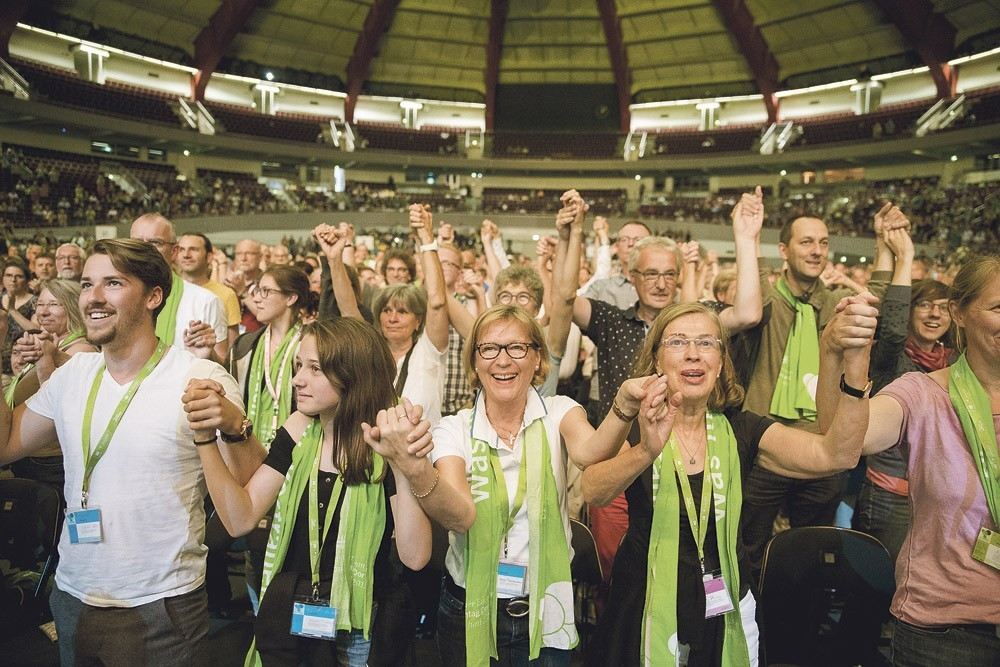 Protestants en Fête en Allemagne, reportage au Kirchentag